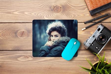 Photo frame pad mouse pad