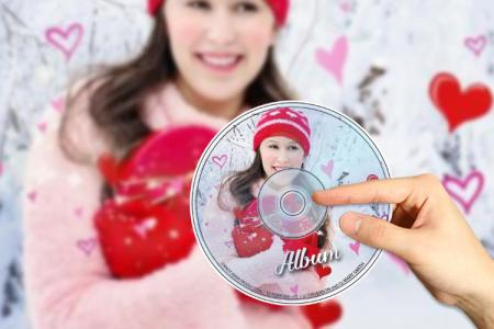 Create CD covers with your photo