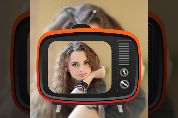Television photo frame
