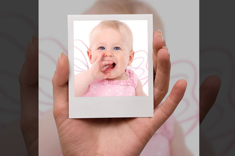 Handheld fun photo frame
