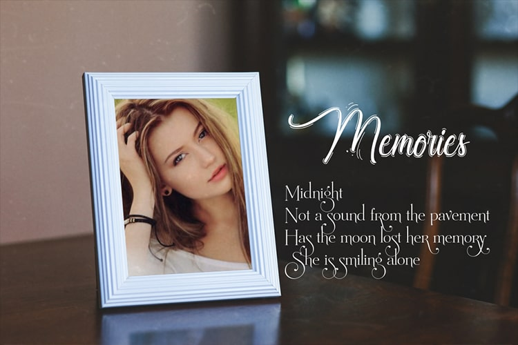 Memories Photo Frame