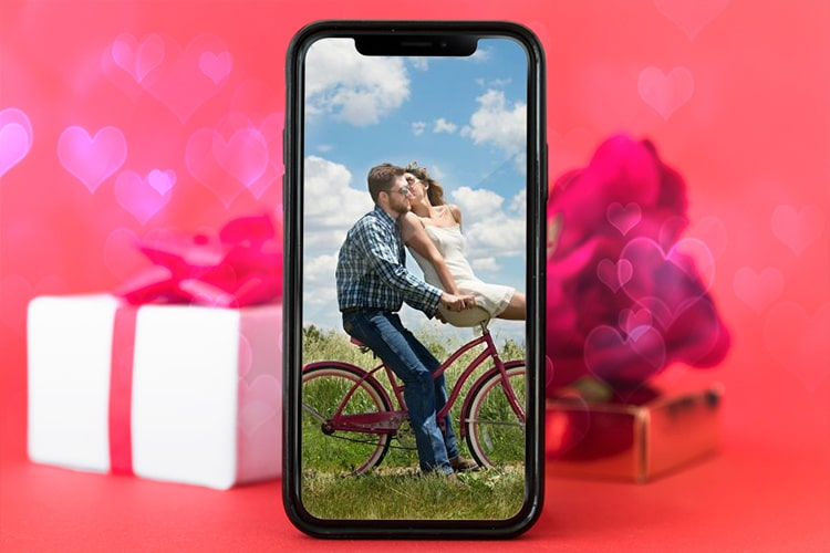 Valentines Day Smartphone Photo Frame