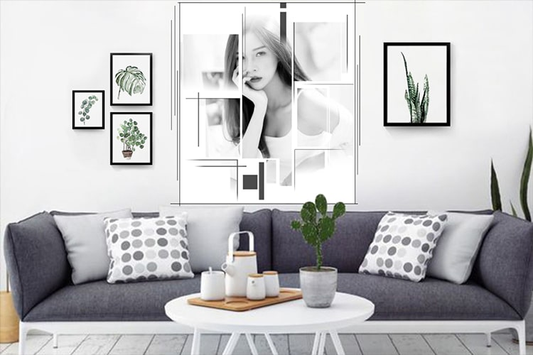 Photo Wall Frames For Living Room